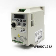 Delta 0.75kW 1HP VFD Inverter VFD007L21A 1Phase 220V AC Drive for Wood Cutting