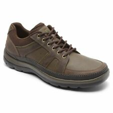 Rockport Men's Gyk Blucher Brown Leather Oxford Shoes V82623