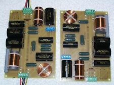 NEW Premium Crossovers for TANNOY HPD315 HPD385 Monitor Gold Speaker wi RollOff