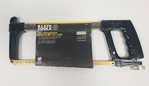 Klein Tools 701-S Hacksaw Dual-Purpose with Golden Tri-Cut 3-in-1 Blade
