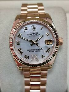 Rolex Datejust 31mm 178278 18K Solid Yellow Gold 2007 box&papers(102)