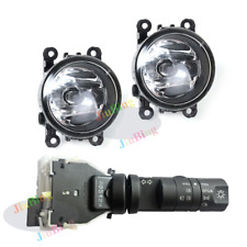 Fog Lights Lamp+Headlight Fog Light Switch Kits for Nissan Frontier 2010-2016 K