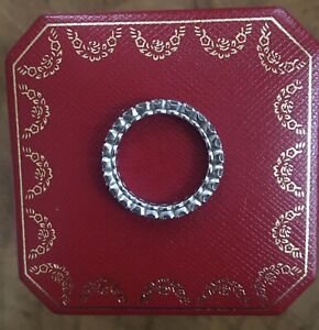 Cartier Ladies Eternity Ring Platinum 1.58ct/size 60mm