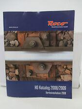Roco Katalog 2008/2009 Herbstneuheiten 2008  WT9422