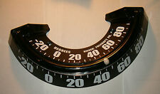 Rieker Manual Boom Angle Indicator PN 4120BBL Black with White Graduations NEW
