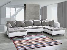 Couch Couchgarnitur Ecksofa Eckcouch Sofagarnitur Sofa VULCANO Wohnlandschaft