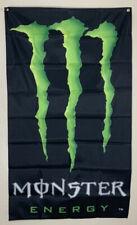 Monster Energy Drink Banner 3x5 Ft Advertising Flag Promotion NASCAR Racing