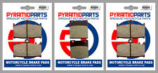 Kawasaki ZXR 750 R 93-95 Front & Rear Brake Pads Full Set (3 Pairs)