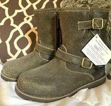 Kids UGG Australia Brown Boots Sz 10, New!