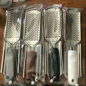 2in1 Pedicure Foot Rasp File Metal Scrubber Hard Dead Rough Skin Callus Remover