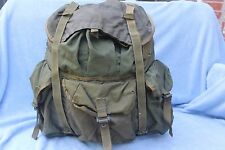 1980s US MILITARY Issue LC-1 ALICE Nylon Combat Field Pack Backpack Large