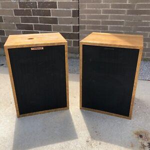 Klipsch Hersey II HII-BR Vintage Speakers (CT)