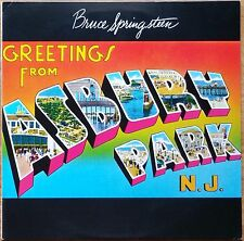 ♫ Bruce Springsteen 'Greetings From Asbury Park N.J' LP Excellent Condition ♫