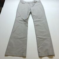 Banana Republic Ryan Fit Boot Cut Tan Pants Size 10 A1999