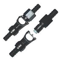 APS Race/Motorsport Quick Release Dry Break Fuel Line Hose Coupler For 8mm Pipe