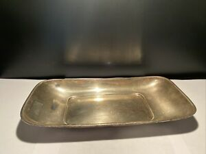 Reed And Barton Sterling Silver Bread Tray Hostess 9.8 Ounces