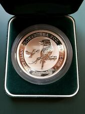2004 Australia Kookaburra two oz 999 Silver Coin - BU in Perth Mint case !