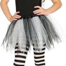 niña con Purpurina Tutú De Disfraz Baile Halloween Bruja - COLORES Calabaza 5