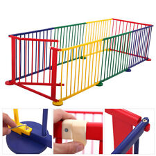 Kids Baby Portable Pet Outdoors 8 Panel Play Pen Safety Gate Children Yard Fence