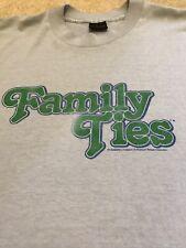 Family Ties Vintage T-Shirt Paramount Pictures Large Alex P Keaton 80's TV Show