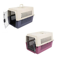 "VILOBOS 20"" Small Pet Carrier Puppy Cat Dog Portable Travel Crate Kennel Cage"