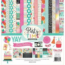 ECHO PARK COLLECTION KIT 12X12-PARTY TIME-083832270711