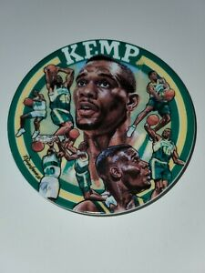 Shawn Kemp Mini Collector Plate 1994 Sports Impressions Used Made in Korea 4 in.