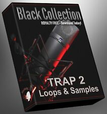 Trap Loops Black Collection Part 2 Ableton Logic FLStudio Cubase Reason Presonus