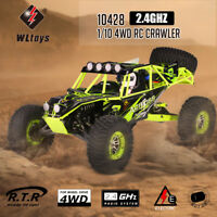 WLtoys 10428 1/10 2.4G 4WD Electric Brushed Crawler RTR RC Car F8B7