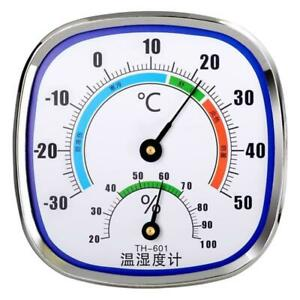 Analog Thermometer Hygrometer Temperature Monitor Humidity Gauge Indoor Outdoor