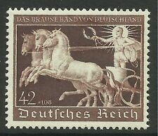 GERMANY. 1940. Brown Ribbon of Germany Commemorative. SG: 735. Mint Never Hinged