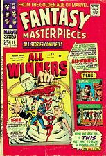Fantasy Masterpieces No. 10 (Mar 1967, Marvel) - Good