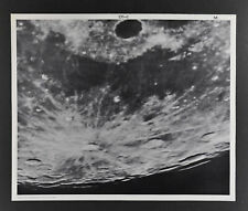 1960 Lunar Moon Map Photo Mare Frigoris West D1-c McDonald Observatory Plate M28