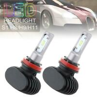 2x CSP H11 H8  LED Lampadine Lampade Faro Luci 110W 30000LM Headlight Bulb 6000K