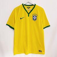 Brazil Brasil Nike 2014-2016 Soccer Football Jersey Shirt Mens Large