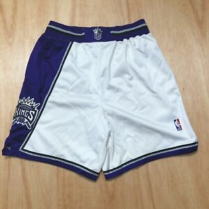 100% Authentic Reebok Sacramento Kings Shorts Size 36 L XL Mens