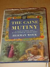 The Caine Mutiny Herman Wouk 1951 Book Club Edition HC/DJ