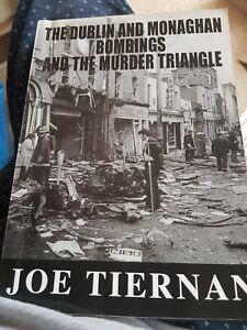 Irish republican DUBLIN AND MONAGHAN BOMBINGS RARE NEAR MINT 2004 BOOK ira Sinn