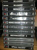 Sony Playstation 1 Bundle - 11 Games - Fully Boxed - UK