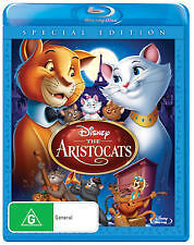 THE ARISTOCATS - DISNEY SPECIAL EDITION - BRAND NEW & SEALED BLU RAY
