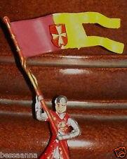 Merten Norman Knights Late Elastolin-Plastic 4 cm Figure Germany Z4-1 T02261024
