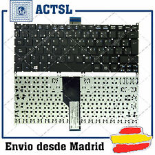 TECLADO ESPAÑOL para PORTATIL ACER S3 Negro (Frosted Keycap,For Win8)