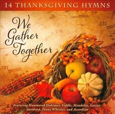 NEW We Gather Together: 14 Thanksgiving Hymns (Audio CD)