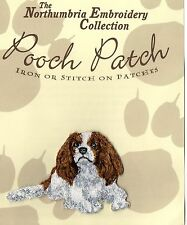 Cavalier King Charles Blenheim  EMBROIDERED  Pooch Patch