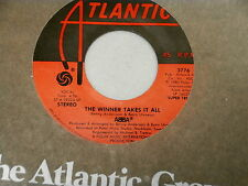 ABBA~THE WINNER TAKES IT ALL~UNP[LAYED STORE STOCK~ELAINE~ATLANTIC ~ POP 45