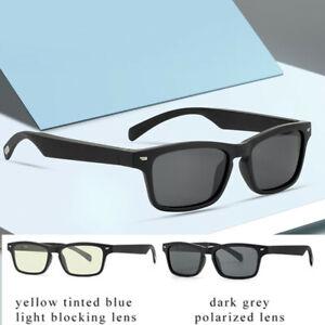 Non Bone Conduction Bluetooth Audio Smart Glasses Driving Sunglasses IP5