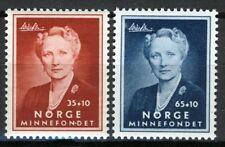 Norway 1956, Crown Princess Martha set MNH Sc B57-58