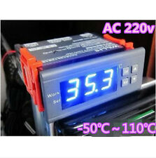 Blue AC 220V Digital LCD Thermostat Temperature Controller Switch Aquarium fish