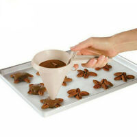 Adjustable Chocolate White Funnel for Baking Cake Decorating Tools Kitchen