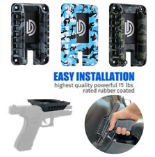 Magnetic Gun Mount Handgun Holder Concealed Firearm Accessories For Truck Car